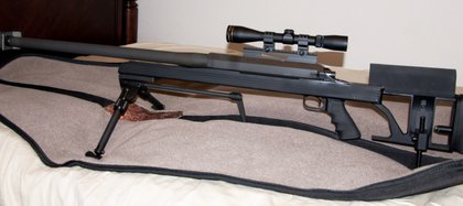 Las armas en los arsenales de estasbandas serían clones del ArmaLite AR-50 de fabricación estadounidense (The Firearms Blog)
