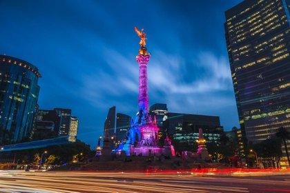 La ciudad más poblada de América del Norte, la capital de la Ciudad de México en México, alberga el Templo Mayor, la Catedral Metropolitana de México y el Palacio Nacional (Shutterstock)