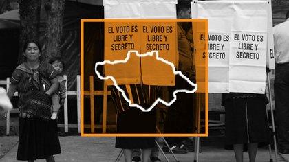 Elecciones en México: Tlaxcala (Ilustración: Jovani/Infobae)