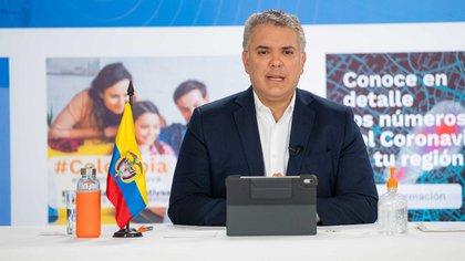 04/07/2020 El presidente de Colombia, Iván Duque. POLITICA ESPAÑA EUROPA MADRID INTERNACIONAL CÉSAR CARRIÓN / PRESIDENCIA DE COLOMBIA