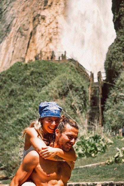 La pareja se conoce desde 2010 cuando vivían en San Antonio de Areco
