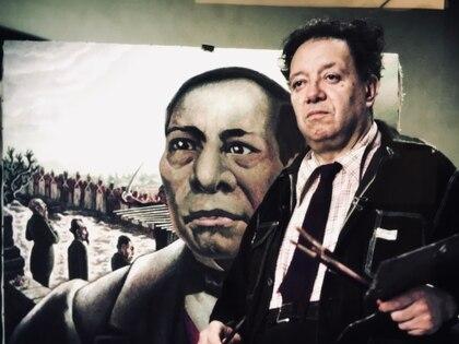 Diego Rivera la contrató como su asistente para trabajar en el mural Sueño de una tarde dominical en la Alameda Central en el Hotel del Prado