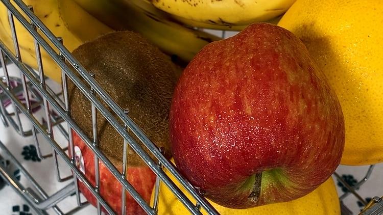 Las frutas son un gran snack para hacer de colación