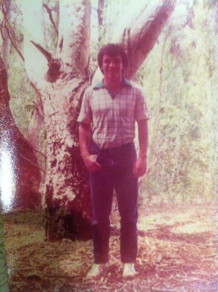 José Luis Espert, a los 24 años (Álbum familiar)