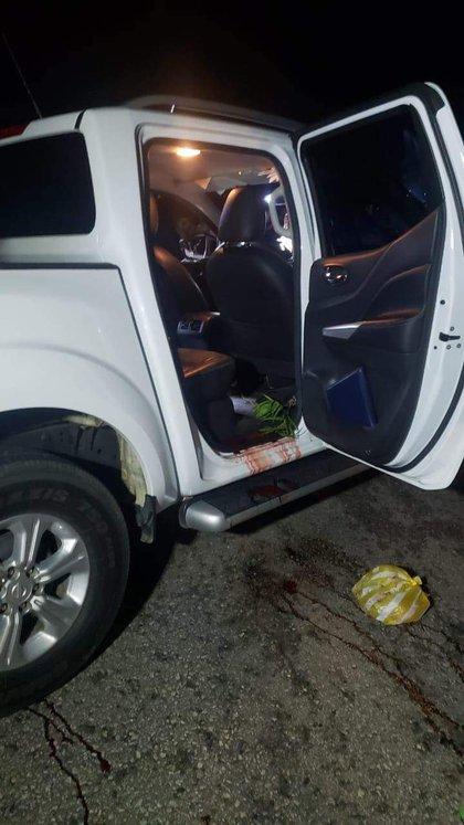 Algunas versiones señalaron que el ataque se debió a que el grupo armado intentó despojar al alcalde del vehículo en que viajaba (Foto: Twitter)