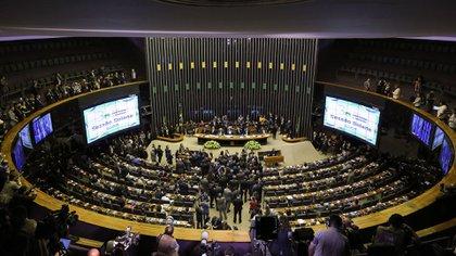 El Congreso brasileño (AFP)
