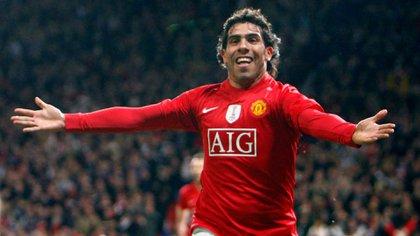 Tevez estuvo a punto de ser fichado por el Real Madrid durante su estadía en el Manchester United (Shutterstock)