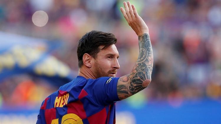 Lionel Messi no estará en el arranque del Barcelona por La Liga
