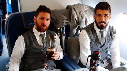 Messi y Suárez forjaron una estrecha amistad en Barcelona