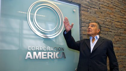 Eduardo Eurnekian, presidente de Corporación América. (Reuters)