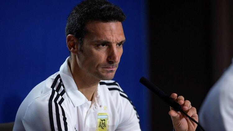 La AFA busca una alternativa si Scaloni no cumple los objetivos en la Copa América (EFE)