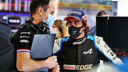 Fernando Alonso volvió a la Máxima luego de dos años (@AlpineF1Team).