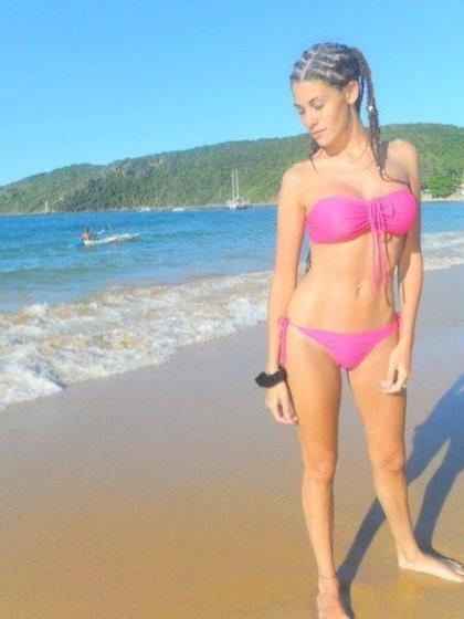 A los 18 años, Ivana pesaba 52 kilos. La modelo cambió su cuerpo, ganó masa muscular y ahora pesa 65 kilos