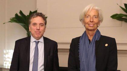 Lagarde y Dujovne volverán a encontrarse hoy enWashington