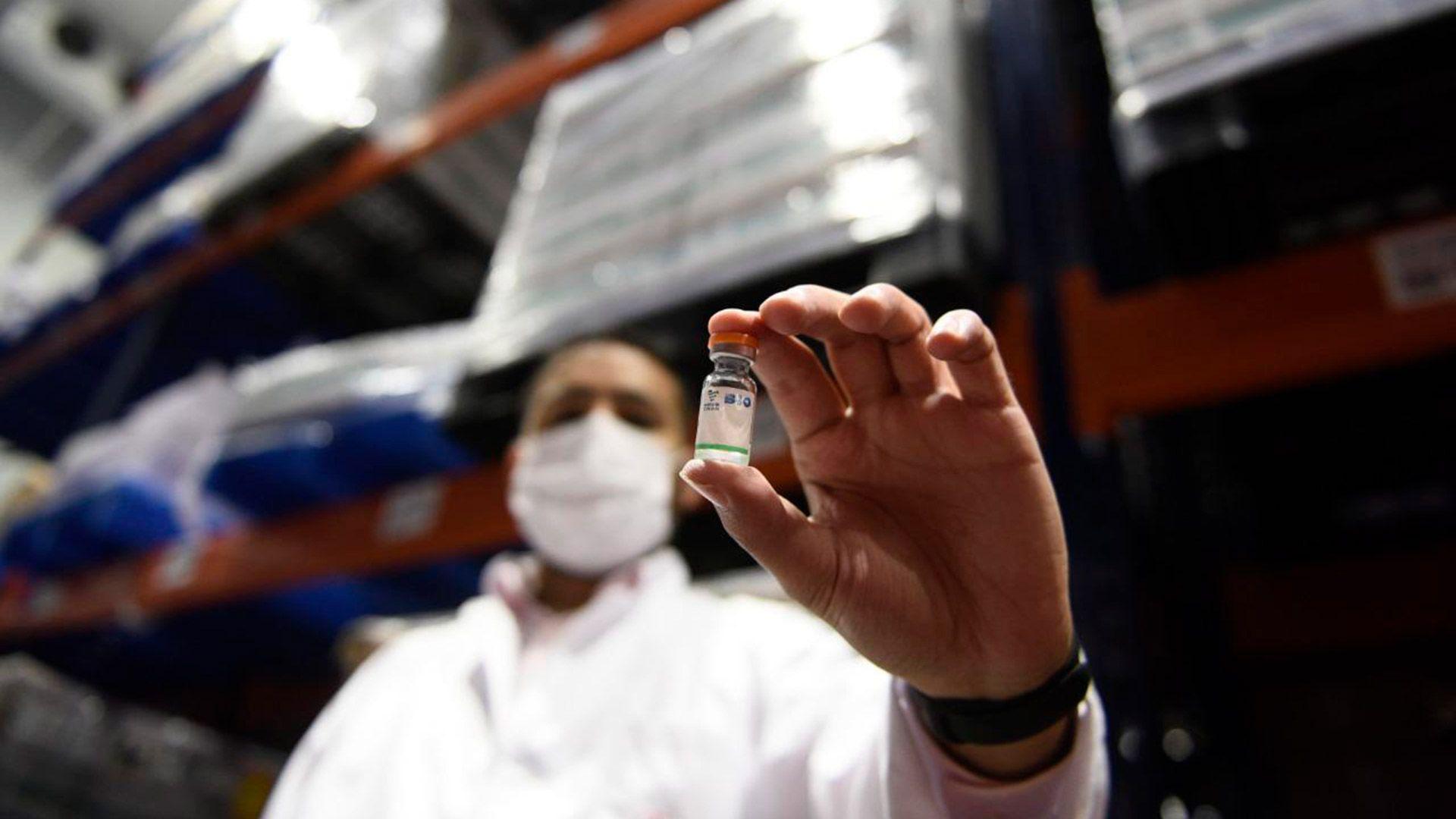 dosis vacuna sinopharm argentina traslado a provincias