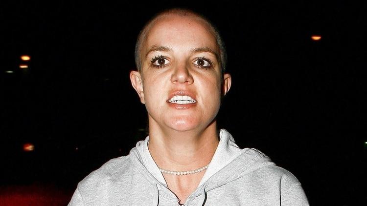La Britney rapada que impactó hace más de una década (Grosby Group)