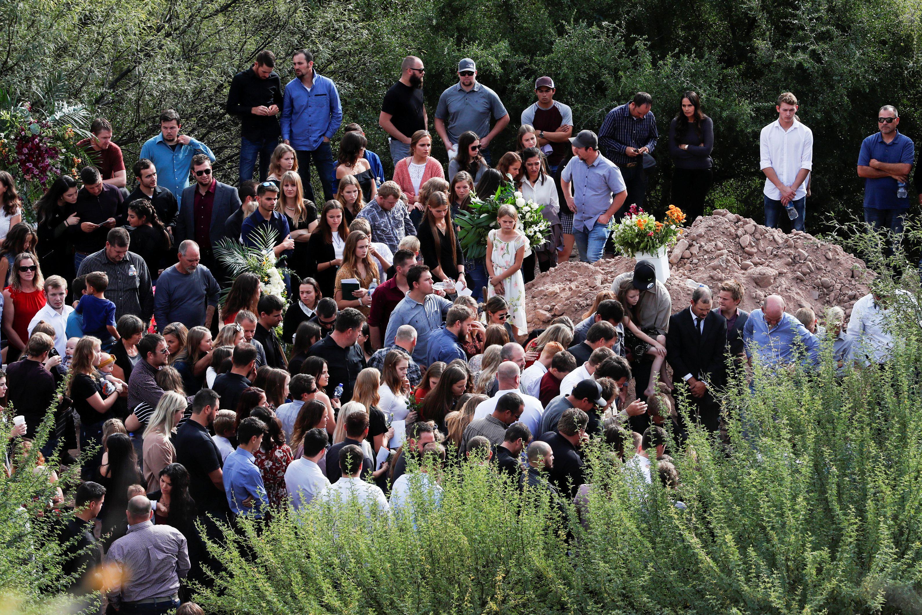 La comunidad mormona de La Mora está integrada por más de 300 habitantes (Foto: Reuters/Carlos Jasso)
