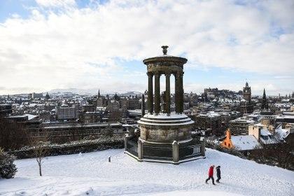 Hacía 25 años que no se registraban estas temperaturas (Andy Buchanan / AFP)