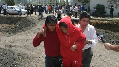 Las autoridades concluyeron que se trató de padecimiento sicogénico de la marcha (Foto: Cuartoscuro)