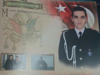 La identificación policial de Mevlüt mert Altıntaş