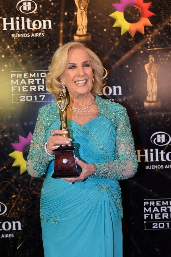 Mirtha Legranden la última entrega de los premios Martín Fierro