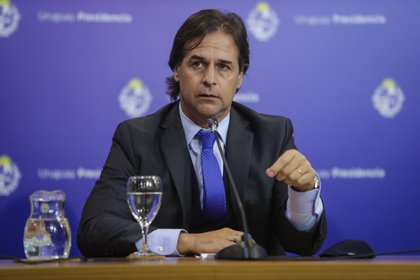 En la imagen, el presidente de Uruguay, Luis Lacalle Pou. EFE/Federico Anfitti