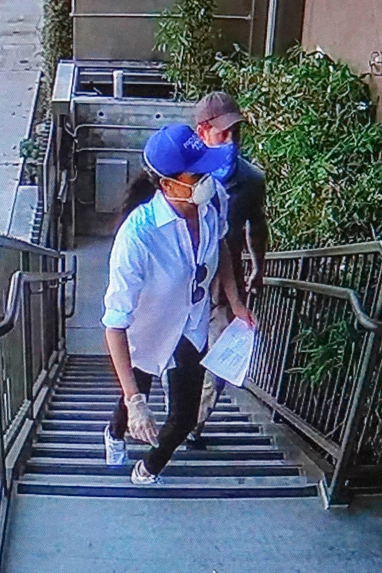 Meghan Markle y Harry, captados repartiendo comida en secreto a los más vulnerables por el COVID-19 en Los Ángeles /The Grosby Group