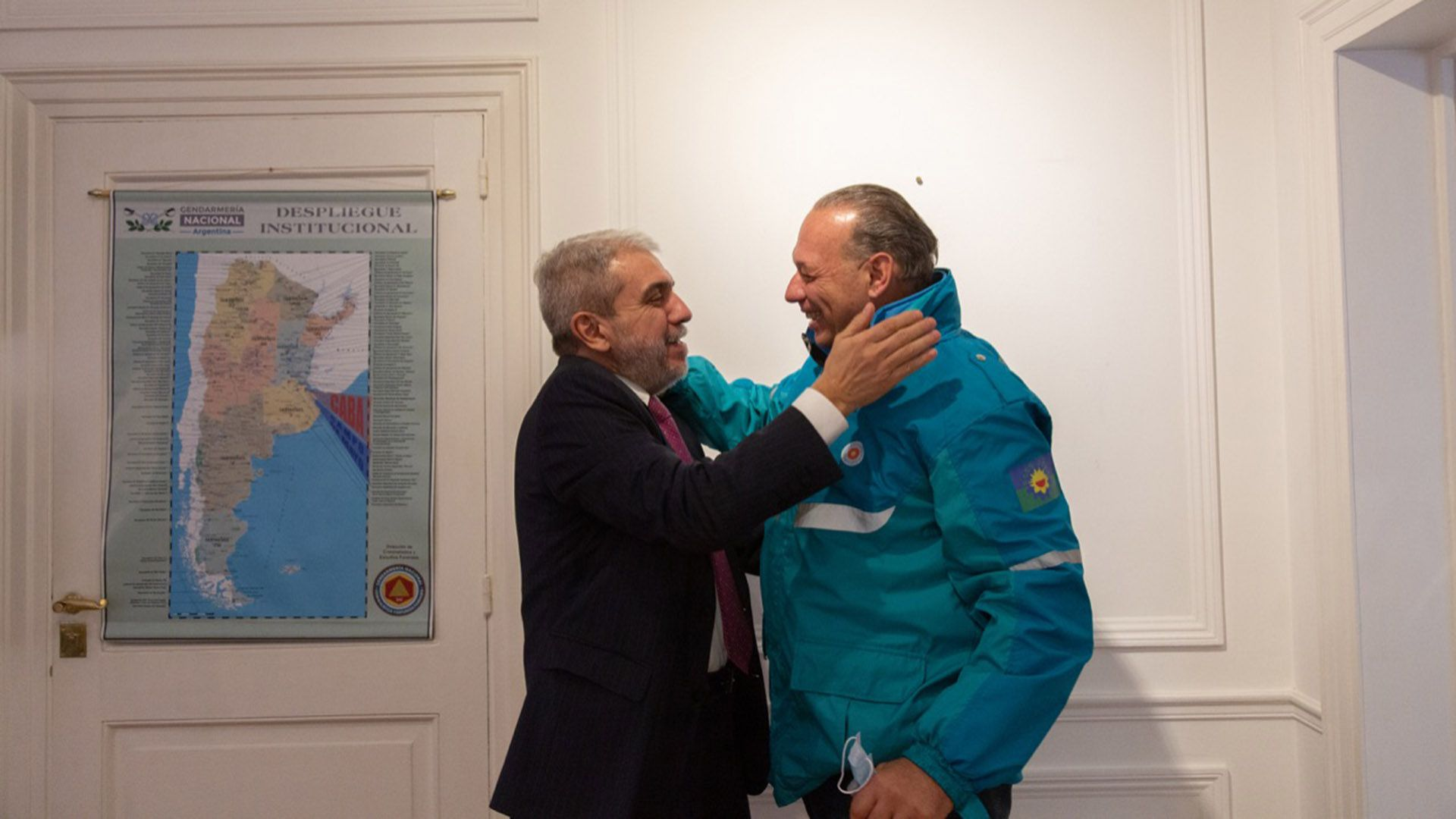 Berni y Aníbal Fernández