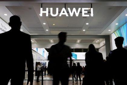 Huawei durante la pasada feria de tecnología en Berlín, en septiembre de 2019 (Reuters)