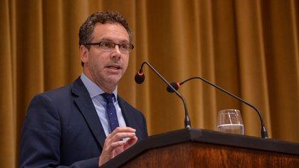 Guido Sandleris, presidente del Banco Central.