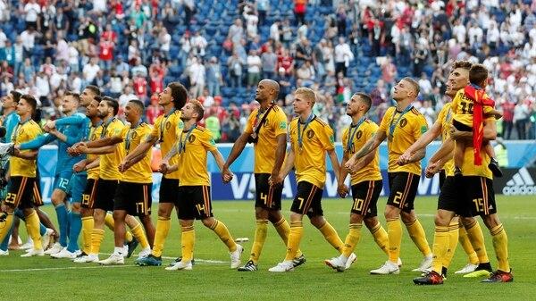 Los belgas se llevaron la medalla de bronce tras derrotar a Inglaterra (REUTERS/Toru Hanai)