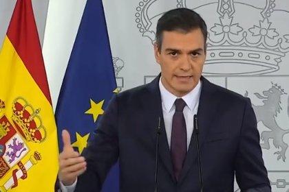 Streaming: Pedro Sánchez, en directo, rueda de prensa de hoy