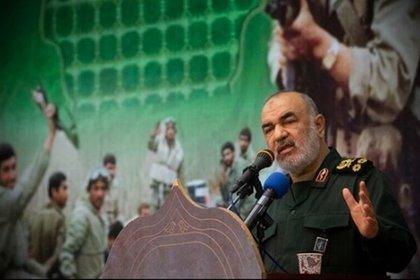 Hossein Salami, líder de los Guardianes de la Revolución de Irán, amenazó a EEUU con represalias