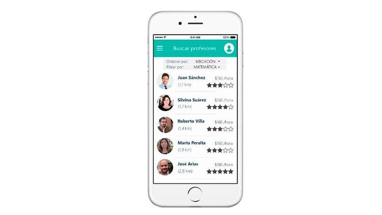 Como Uber, pero de profesores particulares, así serría la app de Classmate