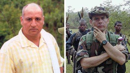 Los jefes paramilitares y creadores de Los Pepes, Fidel y Carlos Castaño.