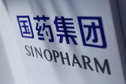 Foto ilustrativa del logo de Sinopharm (REUTERS/Tingshu Wang)
