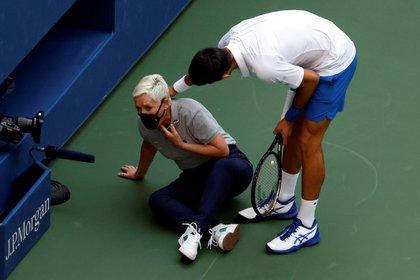 El número uno del mundo se refirió al incidente que le valió la descalificación del US Open (EFE / JASON SZENES/Archivo)