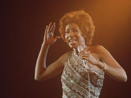 Aretha Franklin en 1967 (Shutterstock)
