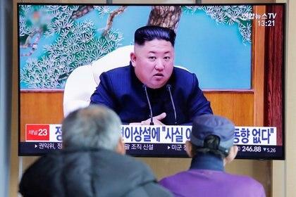 Siguen las especulaciones sobre el estado de salud de Kim Jong-un (REUTERS/Heo Ran)