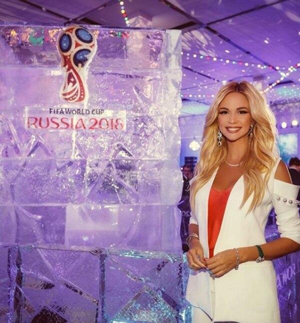 Victoria Lopyreva es la embajadora del Mundial de Rusia 2018 (@lopyrevavika)
