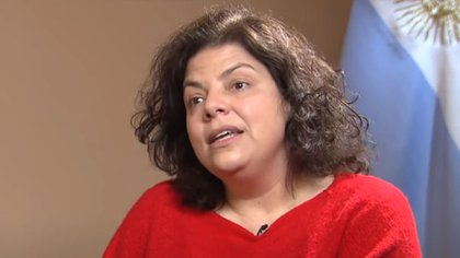 Carla Vizzotti, the new Minister of Health of the Nation