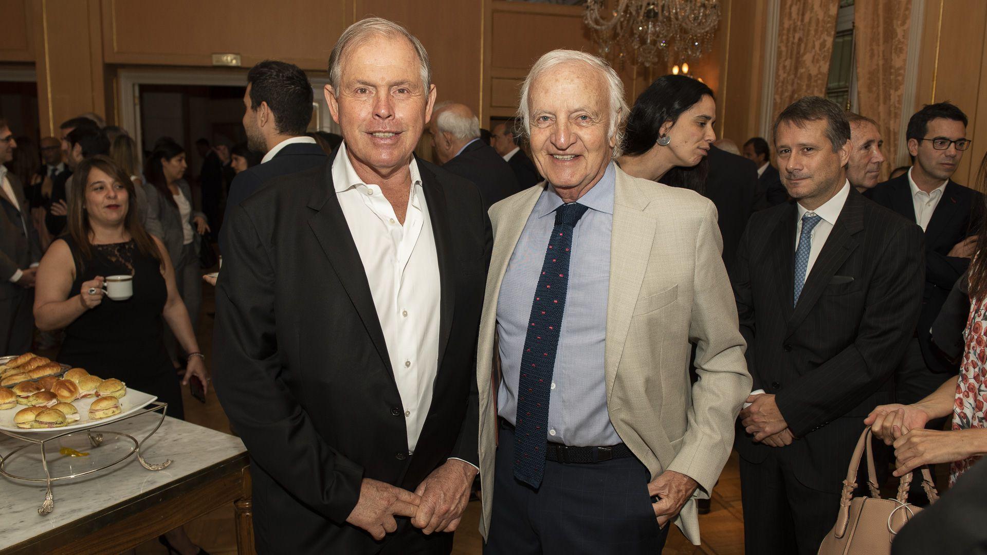 Gerardo Werthein, Grupo W, y Fernando Marín