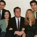 FILE PHOTO: The cast of the American TV sitcom