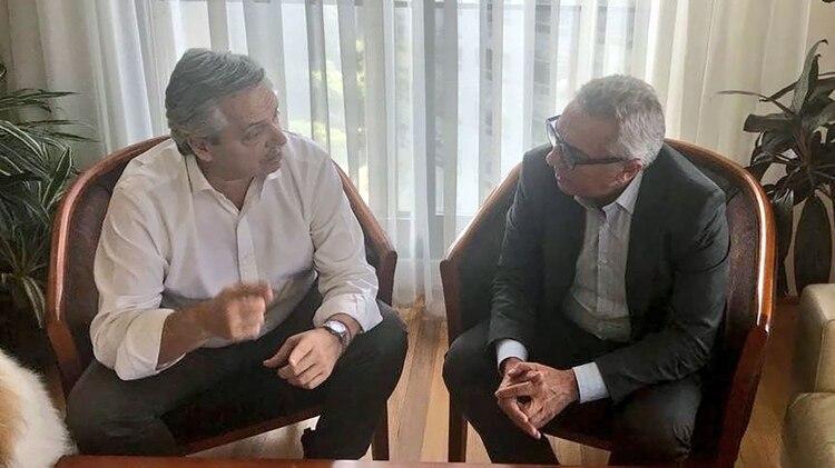 Hace dos semanas, el intendente Zamora visitó a Alberto Fernández y charlaron sobre la unidad del PJ