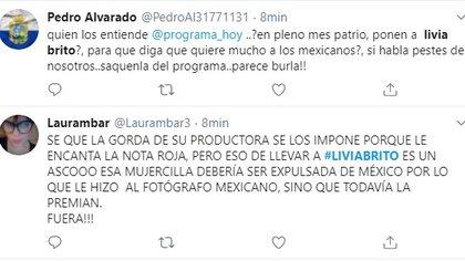 """Todavía no me gusta la presencia de Livia Brito en """"Hoy"""""""