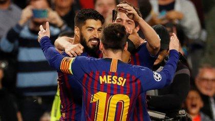 Barcelona venció 3 a 0 al Liverpool en la ida de las semifinales de la Champions League(Reuters)