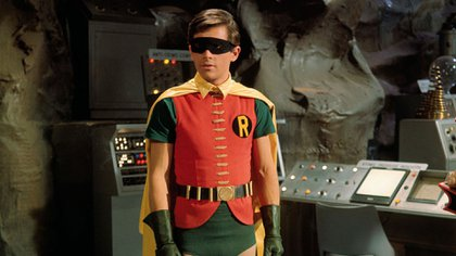Robin, en la Baticueva.