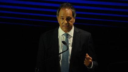 Daniel Scioli lanzó su precandidatura presidencial