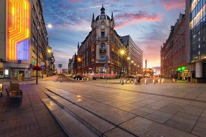 Aunque sigue siendo la tercera ciudad más asequible, el destino emergente Katowice ha visto subir los precios en casi un 5% desde marzo de 2020