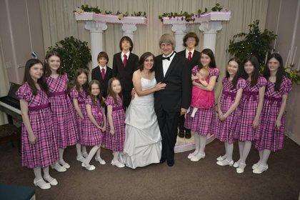 David y Louise Turpin con sus 13 hijos